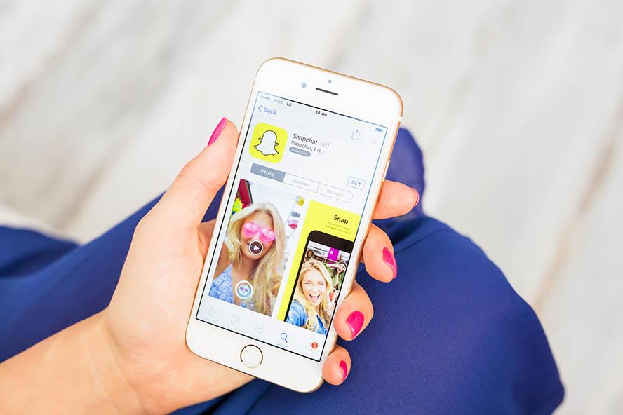 Snapchat – interaktiv und unterhaltsam