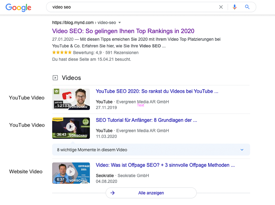 video-youtube-serps