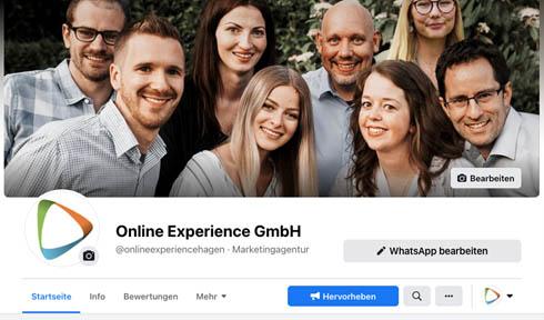 Team von Online Experience