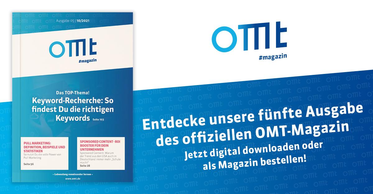 OMT-Magazin - Ausgabe 5