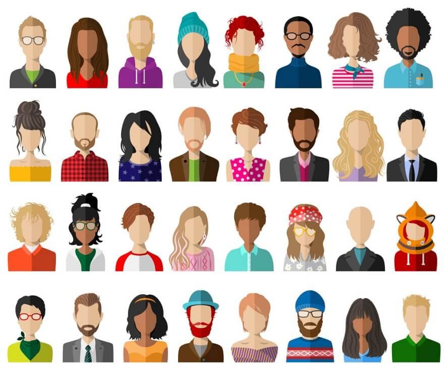 6 Punkte-Anleitung zur Erstellung individueller Personas