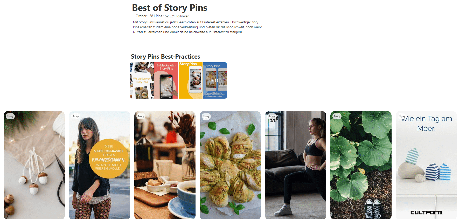 (9) Best of Story Pins