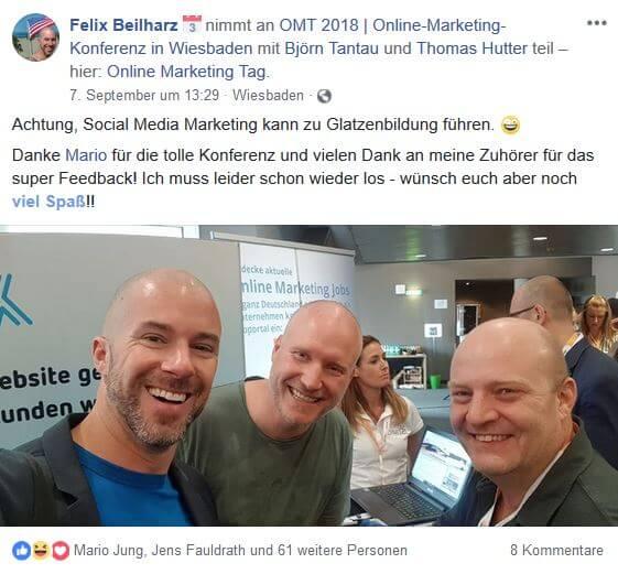 Felix Beilharz 1 - Unser Recap zum OMT 2018