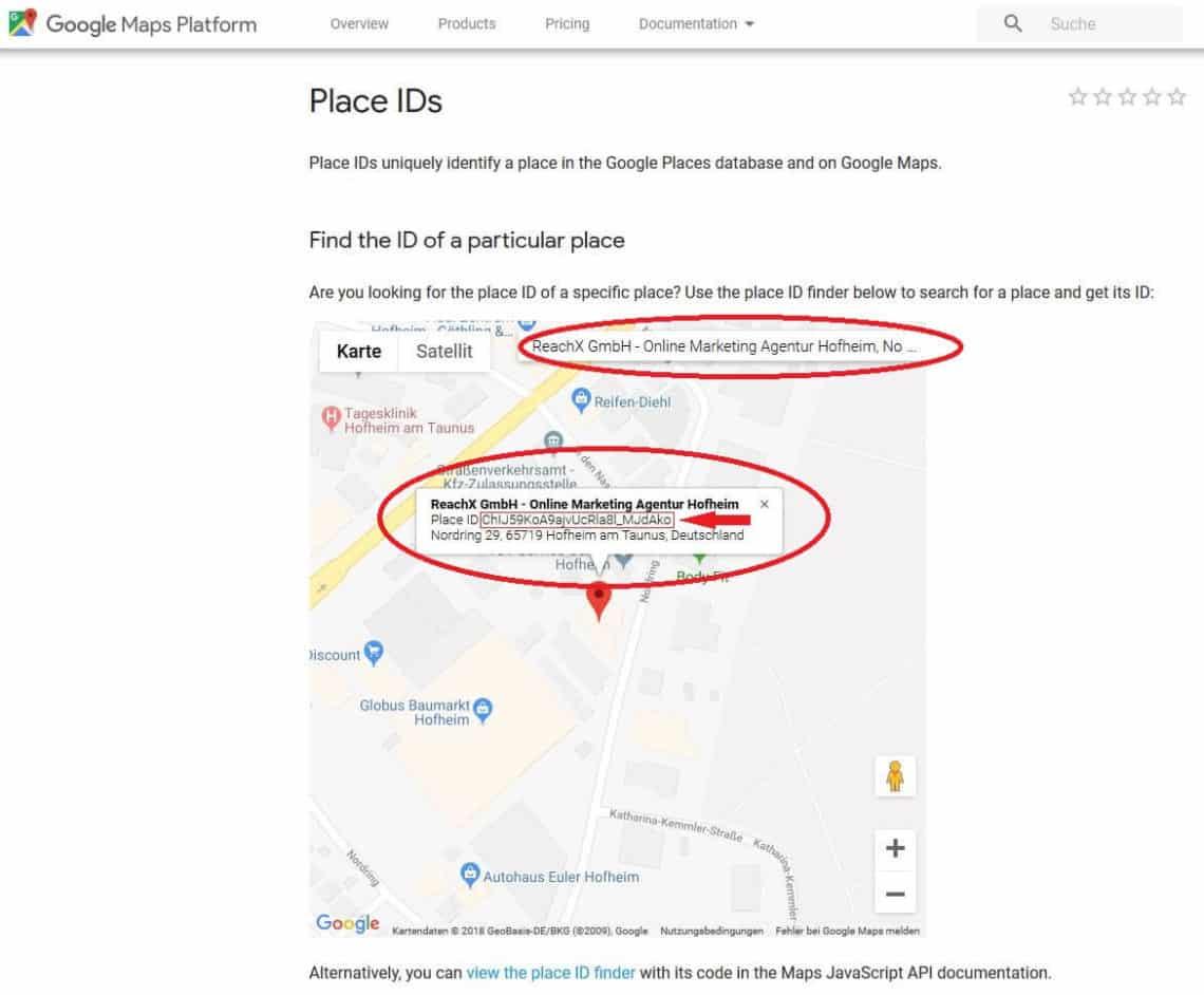 Google API 1 - 8 Tipps, um an Google Bewertungen zu kommen