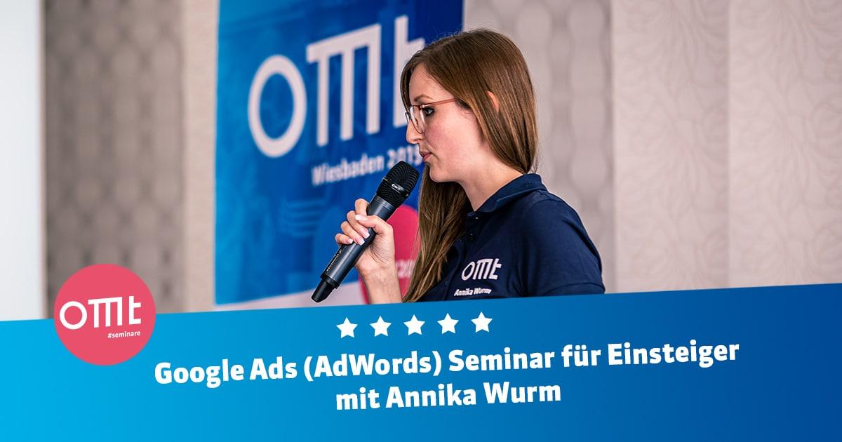Privat: Google Ads (AdWords) Seminar für Einsteiger