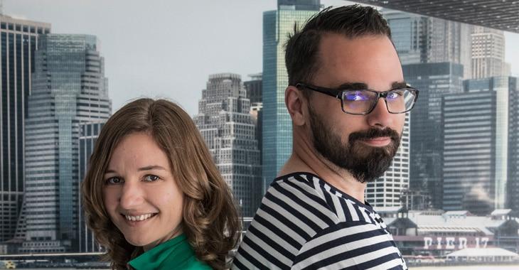 Marco Lauerwald und Corinna Rudolph
