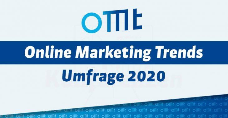 Umfrage zu den Online Marketing Trends 2020 – Jetzt mitmachen!