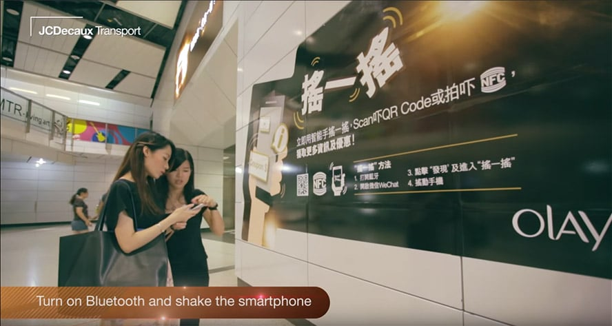 JCDecaux, OLAY engages passengers with its Beacon campaign, https://youtu.be/9N0091iUBJA