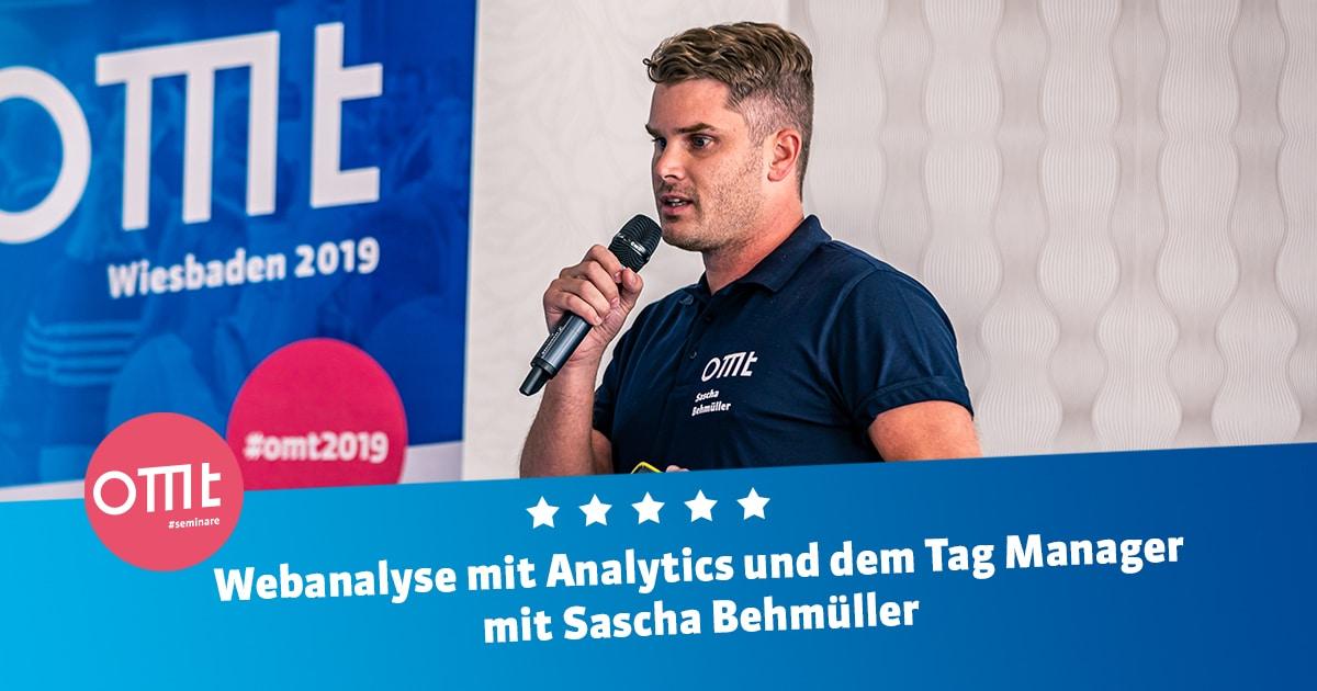 Webanalyse mit Analytics und dem Tag Manager