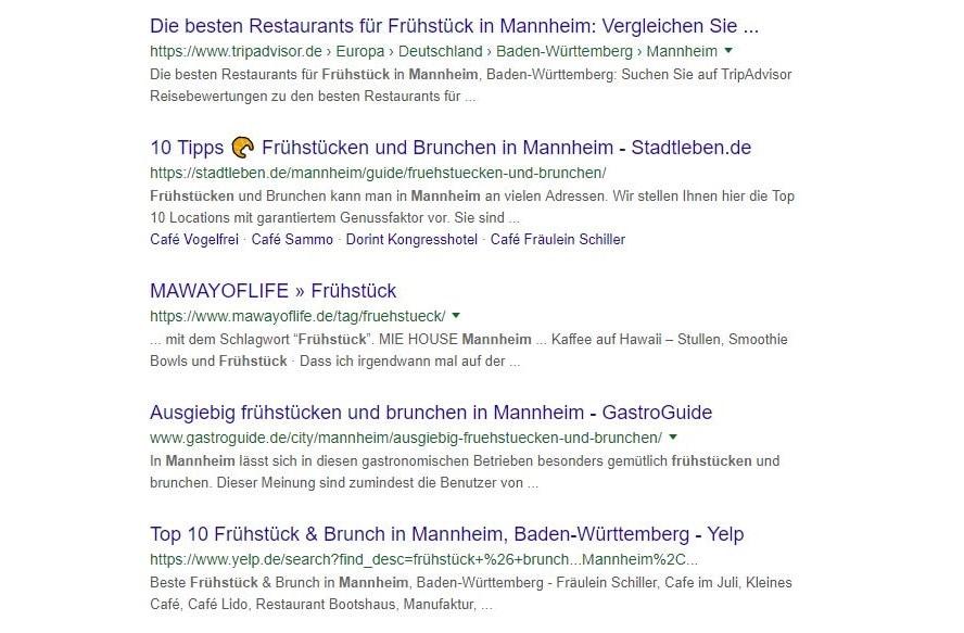 Title mit Emoji Beispiel Stadtleben Mannheim