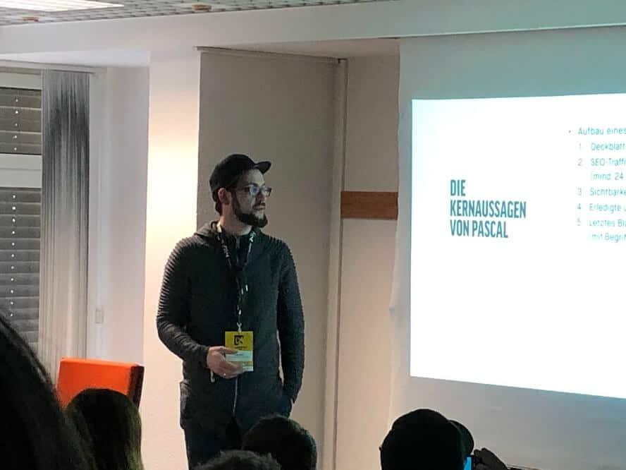 Campixx 2019 - Darius Erdt – SEO-Reporting 2.0 Eine Reise hin zum perfekten Reporting