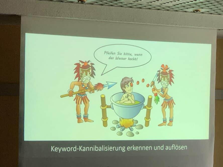 Campixx 2019 - Leonard Metzner – Keyword-Kannibalisierung erkennen und auflösen