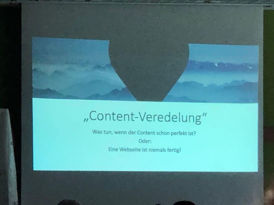 Campixx 2019 - Nils Römeling – Contentveredelung – Was tun, wenn der Content schon perfekt ist?