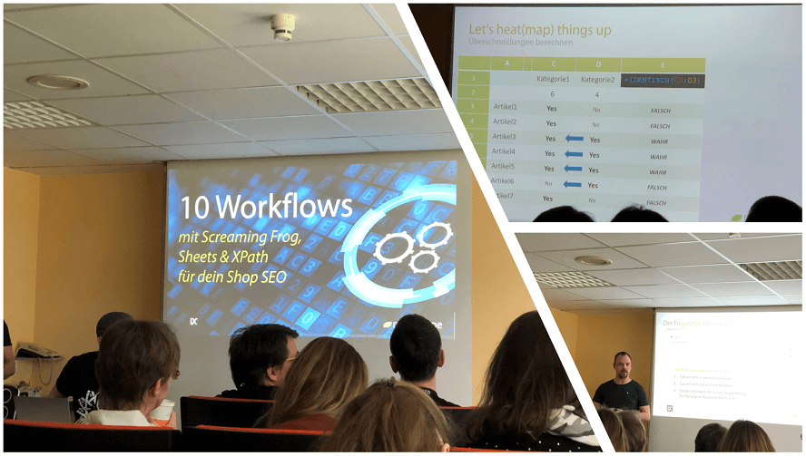 Campixx 2020 Recap - Workflows mit Screaming Frog, Google Sheets und Xpath