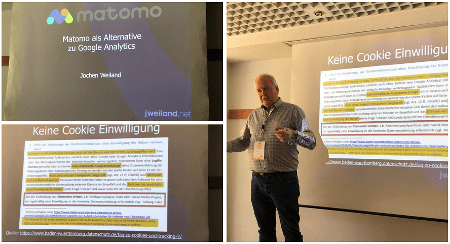 Campixx 2020 Recap - Matomo als Alternative zu Google Analytics