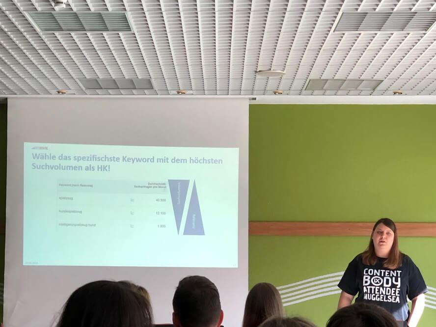 Contentixx 2019 - Lisa Dziki – Grundregeln für Deine Webseiten-Inhalte: Damit Deine Texte (gut) gefunden werden.