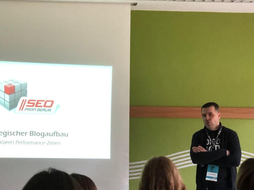 Contentixx 2019 - Sven Deutschländer – Strategischer Blog-Aufbau mit klaren Performance-Zielen