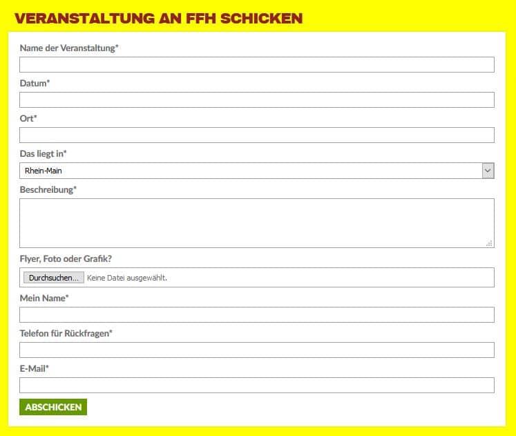 veranstaltung eines events ffh backlinks