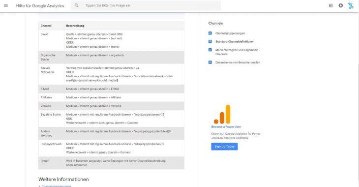 google ads mit analytics verknüpfen channeldefinition 730x380