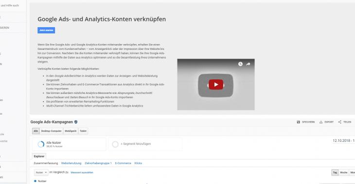 google ads mit analytics verknüpfen weg 2 730x380