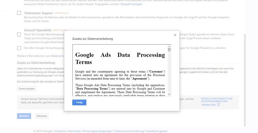 Google Analytics Zusatz Datenverarbeitung-2