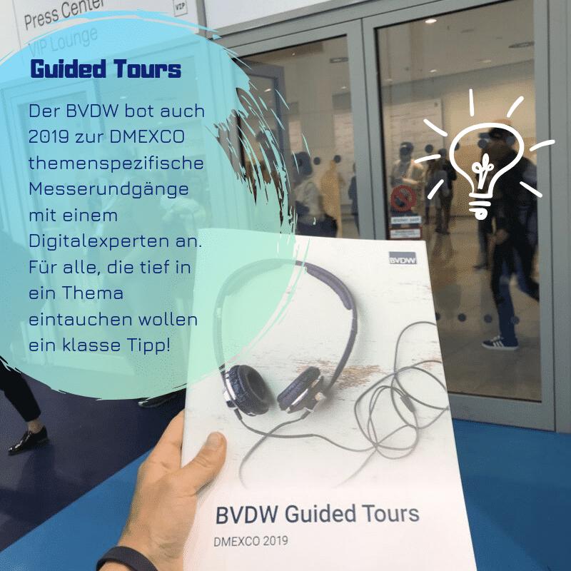 Guide Tour DMEXCO