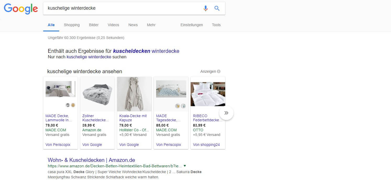 omt google shopping optimierung beispiel anzeige 01 - Google Shopping Kampagnen strukturieren – mit Köpfchen