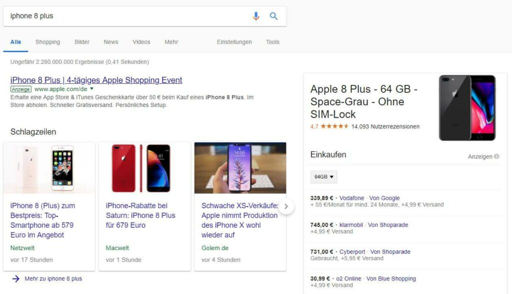 omt google shopping optimierung beispiel produkt spezifische anfrage 05 1 1024x589 - Google Shopping Kampagnen strukturieren – mit Köpfchen