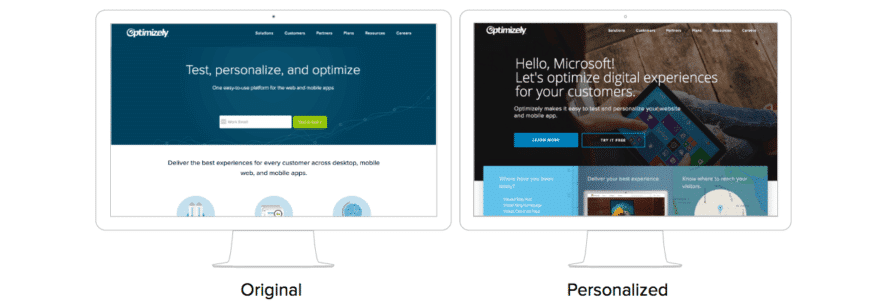 optimizely-website-personalisierung