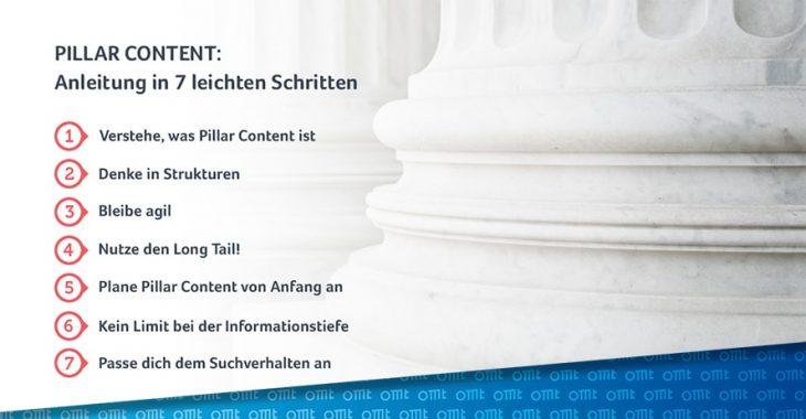 Pillar Content: Anleitung in 7 leichten Schritten