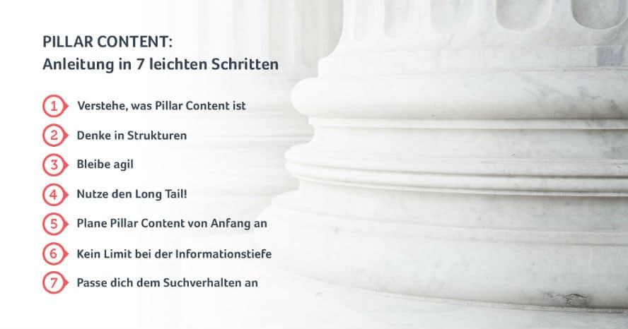 Keine Angst vor Pillar Content!