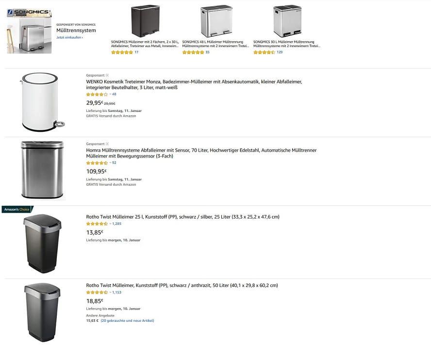 platzierung-sponsored-products-suchergebnisseite