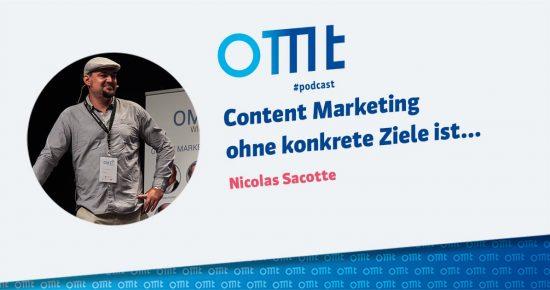 Content Marketing ohne konkrete Ziele ist… – OMT-Podcast Folge #013