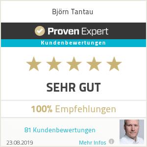 Proven Experts Björn Tantau