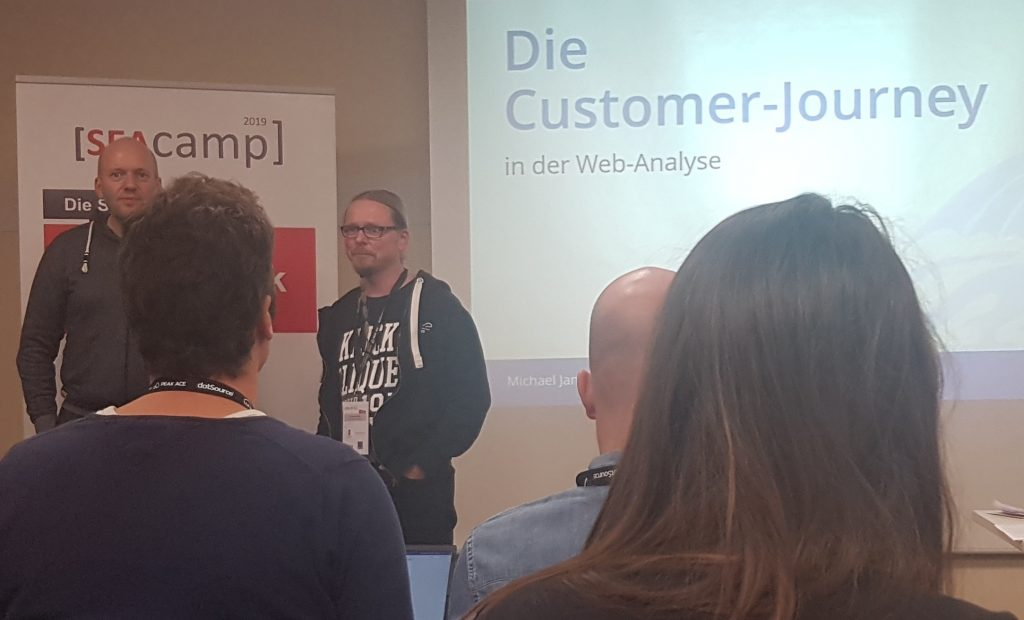 Michael Janssen beim SEAcamp 2019