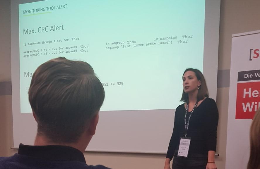 Ivana von norisk auf dem SEAcamp