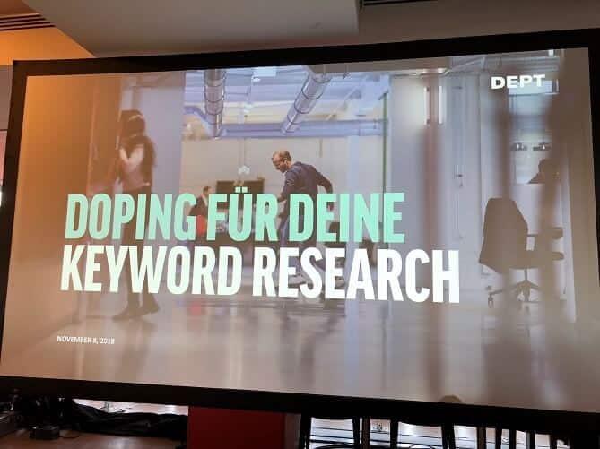 seoday e commerce doping für deine keyword research