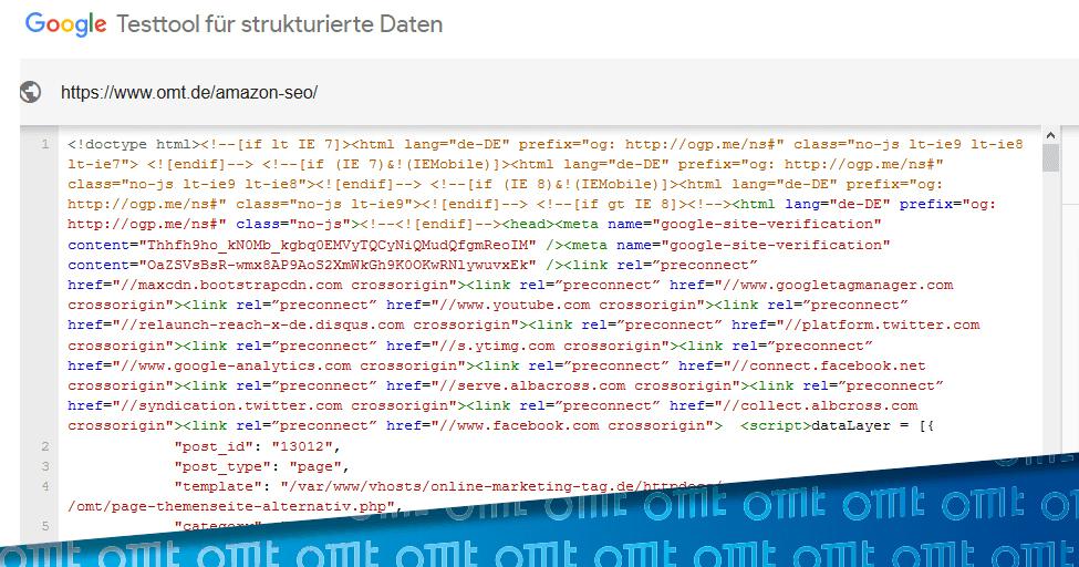 Was sind strukturierte Daten und wie werden sie eingesetzt?
