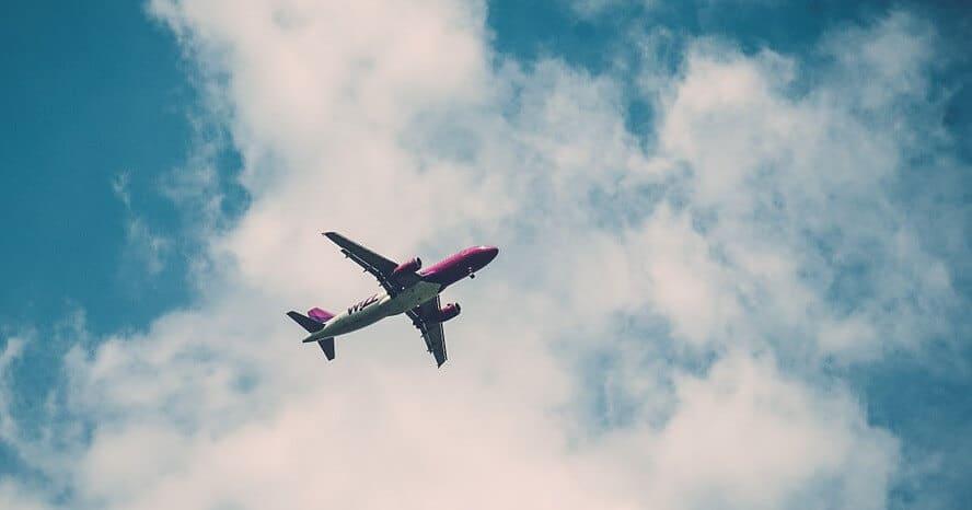 Flugzeugreise