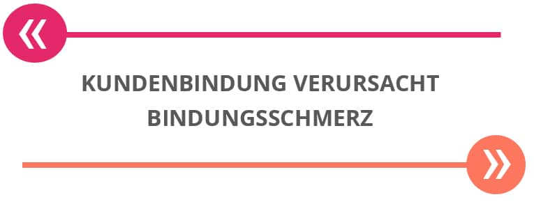 bindungsschmerz - kundenbindung im e-commerce